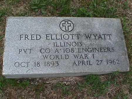 WYATT, FRED ELLIOTT - Henry County, Iowa | FRED ELLIOTT WYATT
