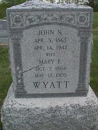 WYATT, MARY - Henry County, Iowa | MARY WYATT