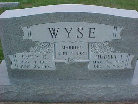 WYSE, HUBERT - Henry County, Iowa | HUBERT WYSE
