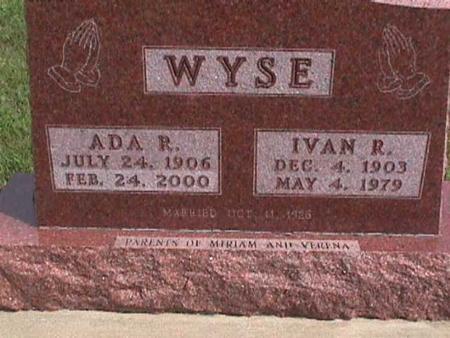WYSE, IVAN - Henry County, Iowa | IVAN WYSE