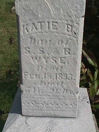 WYSE, KATIE - Henry County, Iowa | KATIE WYSE
