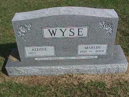 WYSE, ALDINE - Henry County, Iowa | ALDINE WYSE