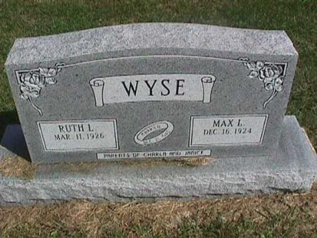 WYSE, MAX L. - Henry County, Iowa | MAX L. WYSE