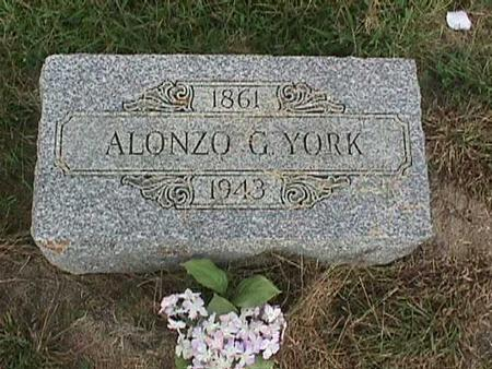 YORK, ALONZO G - Henry County, Iowa | ALONZO G YORK