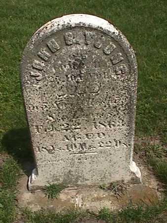 YOUNG, JOHN S - Henry County, Iowa   JOHN S YOUNG