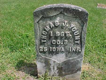 YOUNT, THOMAS J. - Henry County, Iowa | THOMAS J. YOUNT