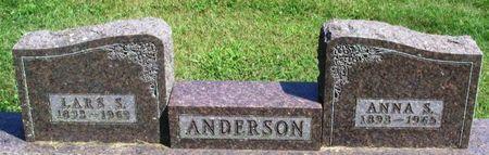ANDERSON, ANNA S. - Howard County, Iowa   ANNA S. ANDERSON