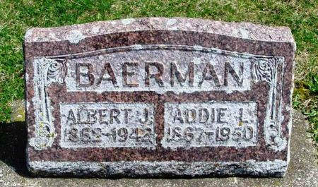 BAERMAN, ADDIE L. - Howard County, Iowa | ADDIE L. BAERMAN