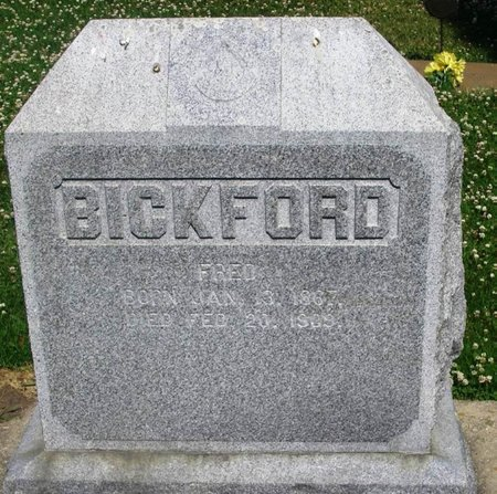 BICKFORD, FRED - Howard County, Iowa | FRED BICKFORD