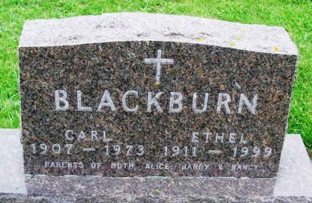 BLACKBURN, CARL - Howard County, Iowa | CARL BLACKBURN
