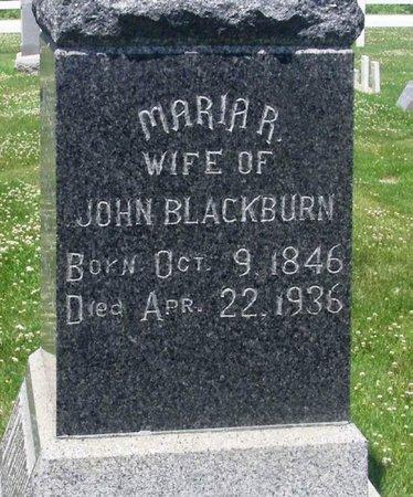BLACKBURN, MARIA R. - Howard County, Iowa | MARIA R. BLACKBURN