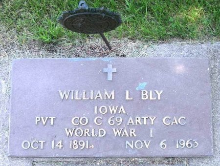 BLY, WILLIAM LESLIE - Howard County, Iowa | WILLIAM LESLIE BLY