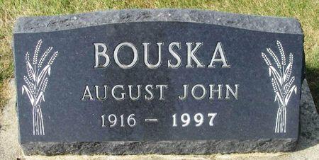 BOUSKA, AUGUST JOHN - Howard County, Iowa | AUGUST JOHN BOUSKA
