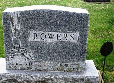 BOWERS, HENRIETTA - Howard County, Iowa   HENRIETTA BOWERS