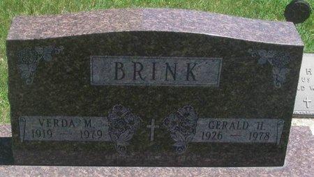 BRINK, VERDA M - Howard County, Iowa | VERDA M BRINK
