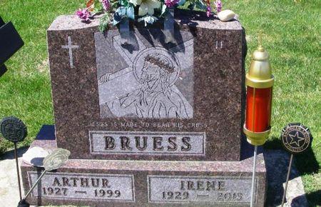 BRUESS, IRENE CAROLINE - Howard County, Iowa | IRENE CAROLINE BRUESS