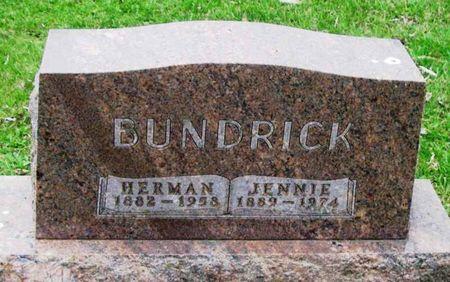BUNDRICK, JENNIE - Howard County, Iowa | JENNIE BUNDRICK