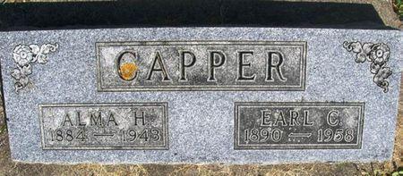 CAPPER, ALMA H. - Howard County, Iowa | ALMA H. CAPPER
