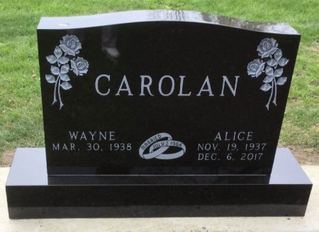 CAROLAN, ALICE - Howard County, Iowa | ALICE CAROLAN