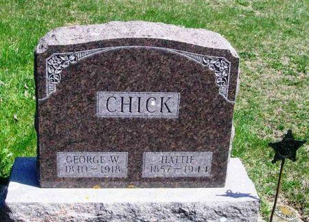 CHICK, HATTIE - Howard County, Iowa | HATTIE CHICK