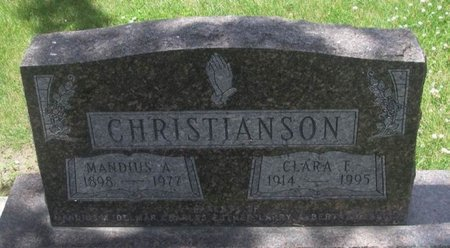 MEYERHOFF CHRISTIANSON, CLARA E - Howard County, Iowa   CLARA E MEYERHOFF CHRISTIANSON