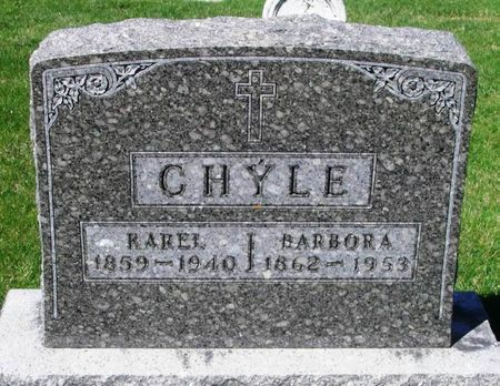 CHYLE, KAREL - Howard County, Iowa | KAREL CHYLE