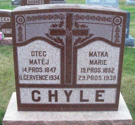 HOLON CHYLE, MARIE - Howard County, Iowa | MARIE HOLON CHYLE