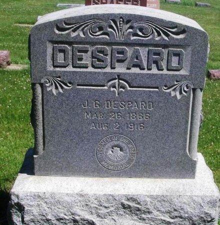 DESPARD, J. G. - Howard County, Iowa | J. G. DESPARD