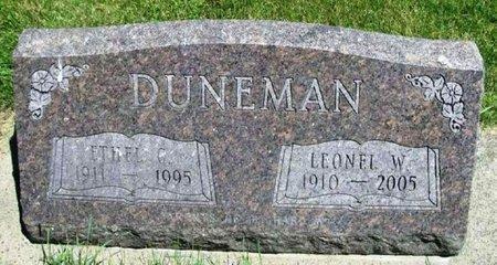 DUNEMAN, LEONEL W. - Howard County, Iowa | LEONEL W. DUNEMAN