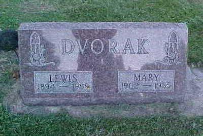DVORAK, LEWIS - Howard County, Iowa | LEWIS DVORAK