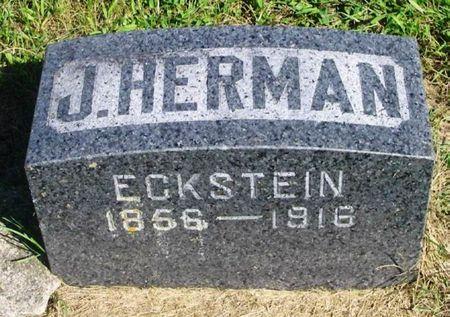 ECKSTEIN, J. HERMAN - Howard County, Iowa   J. HERMAN ECKSTEIN