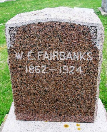 FAIRBANKS, W. E. - Howard County, Iowa   W. E. FAIRBANKS