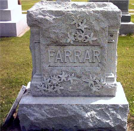FARRAR, FAMILY - Howard County, Iowa | FAMILY FARRAR