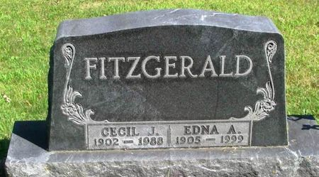 FITZGERALD, CECIL J. - Howard County, Iowa | CECIL J. FITZGERALD