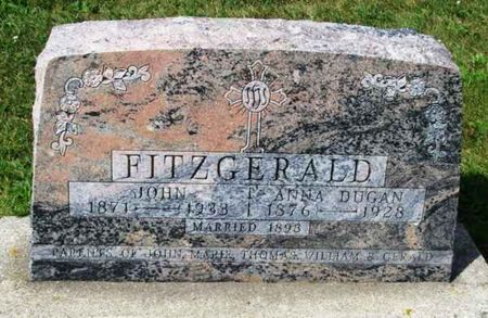 FITZGERALD, JOHN - Howard County, Iowa | JOHN FITZGERALD