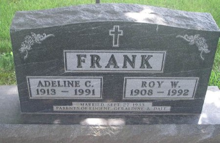 FRANK, ADELINE C - Howard County, Iowa | ADELINE C FRANK