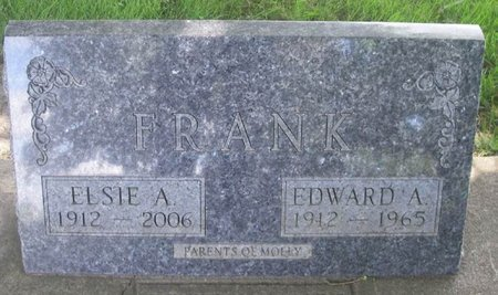 FRANK, EDWARD A - Howard County, Iowa   EDWARD A FRANK