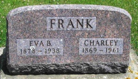 FRANK, EVA B - Howard County, Iowa | EVA B FRANK