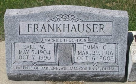 FRANKHAUSER, EARL W. - Howard County, Iowa | EARL W. FRANKHAUSER