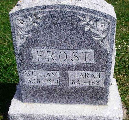 FROST, WILLIAM - Howard County, Iowa | WILLIAM FROST