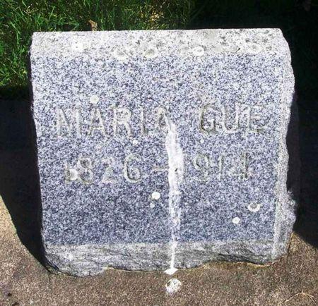 GUE, MARIA - Howard County, Iowa | MARIA GUE