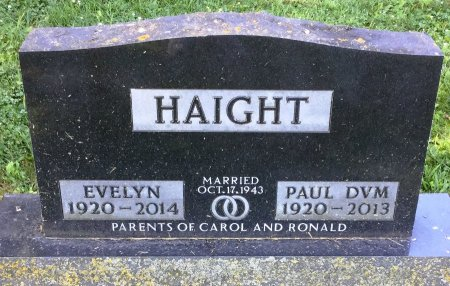 THOMAS HAIGHT, EVELYN - Howard County, Iowa | EVELYN THOMAS HAIGHT
