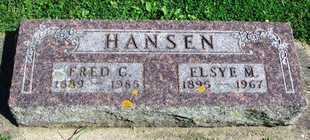 HANSEN, FRED C. - Howard County, Iowa | FRED C. HANSEN