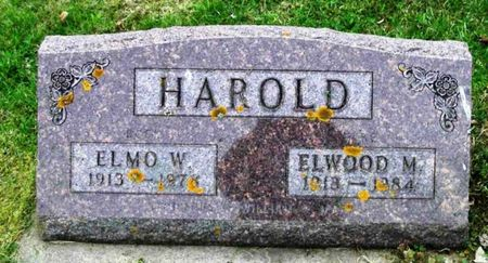 HAROLD, ELMO W. - Howard County, Iowa | ELMO W. HAROLD