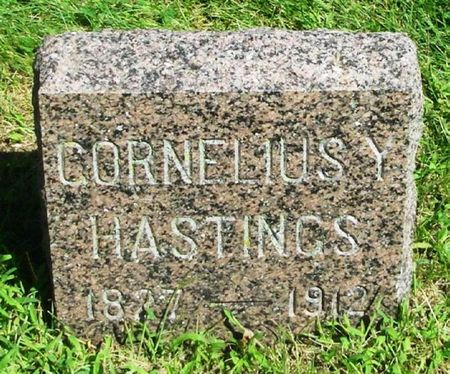 HASTINGS, CORNELIUS Y. - Howard County, Iowa | CORNELIUS Y. HASTINGS