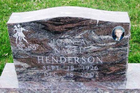 HENDERSON, JOAN A. - Howard County, Iowa   JOAN A. HENDERSON