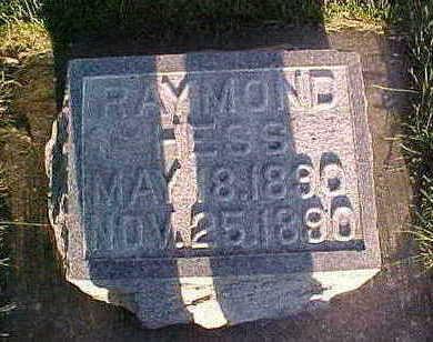 HESS, RAYMOND - Howard County, Iowa | RAYMOND HESS