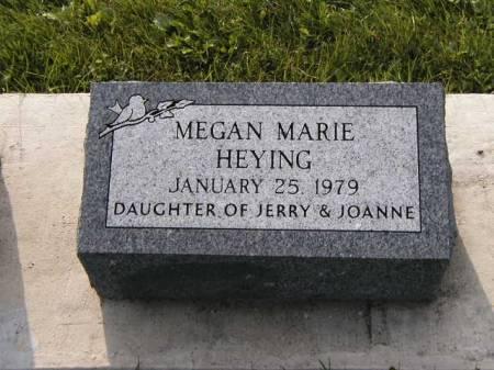 HEYING, MEGAN MARIE - Howard County, Iowa | MEGAN MARIE HEYING