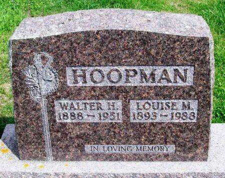 HOOPMAN, LOUISE M. - Howard County, Iowa | LOUISE M. HOOPMAN