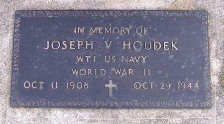 HOUDEK, JOSEPH V. - Howard County, Iowa | JOSEPH V. HOUDEK